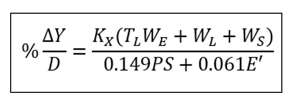 Modified Iowa Equation